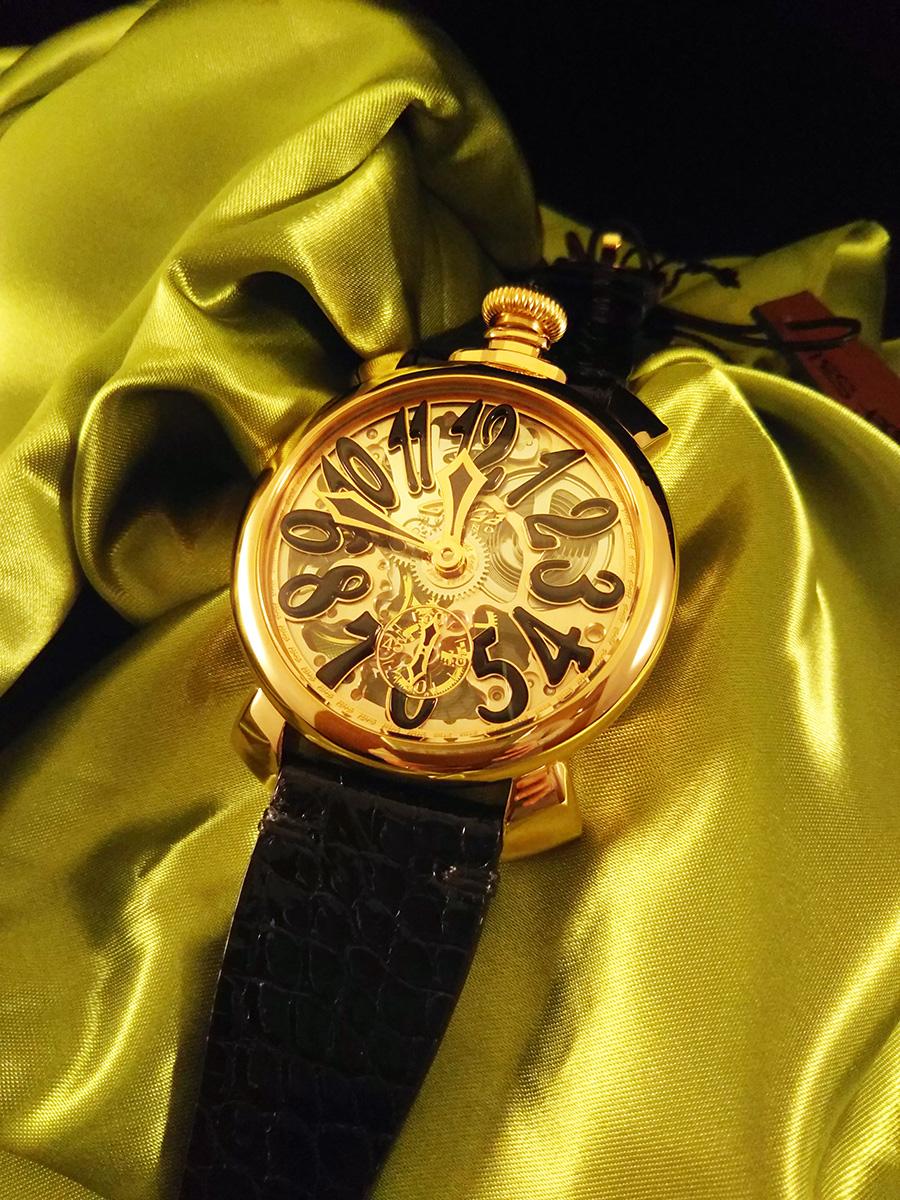 hot sale online e101b f6ce5 新作]ガガミラノ(GAGA MILANO)の2017年新作のスケルトンの時計 ...